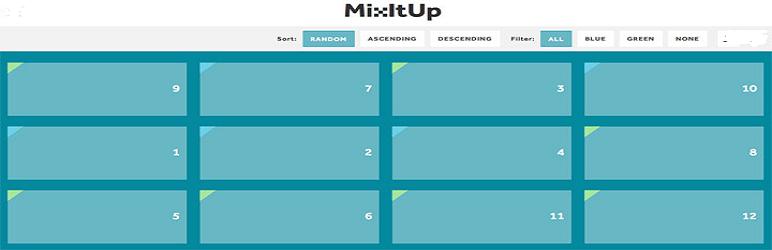 WordPress Awesome Wp Mixitup Portfolio Plugin Banner Image