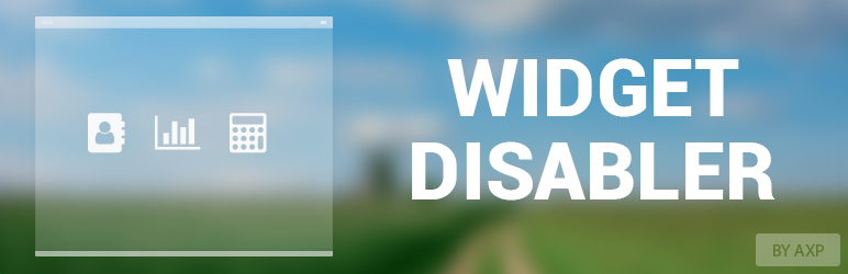 WordPress AXP Widget Disabler Plugin Banner Image