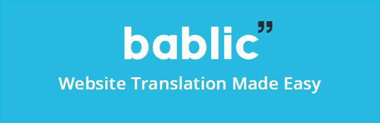 WordPress Translate Your WP Website Hassle Free! Plugin Banner Image