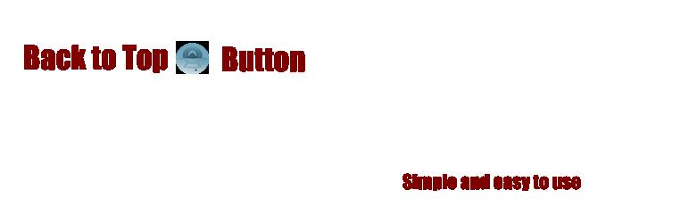 WordPress Back to Top Button Plugin Banner Image