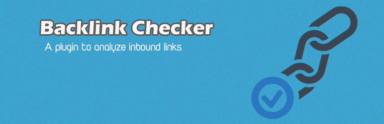 WordPress Backlink Checker Plugin Banner Image