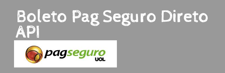 WordPress Plugin boleto-pag-seguro-direto