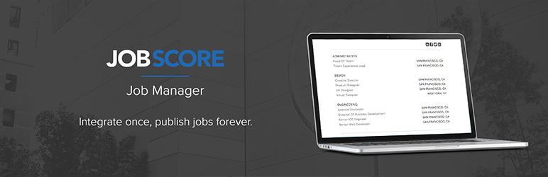 WordPress Plugin job-manager-by-jobscore