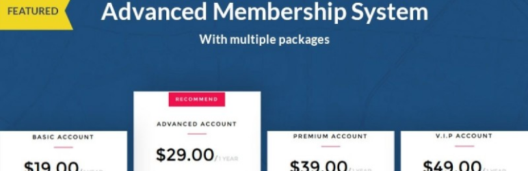 WordPress Plugin opal-membership