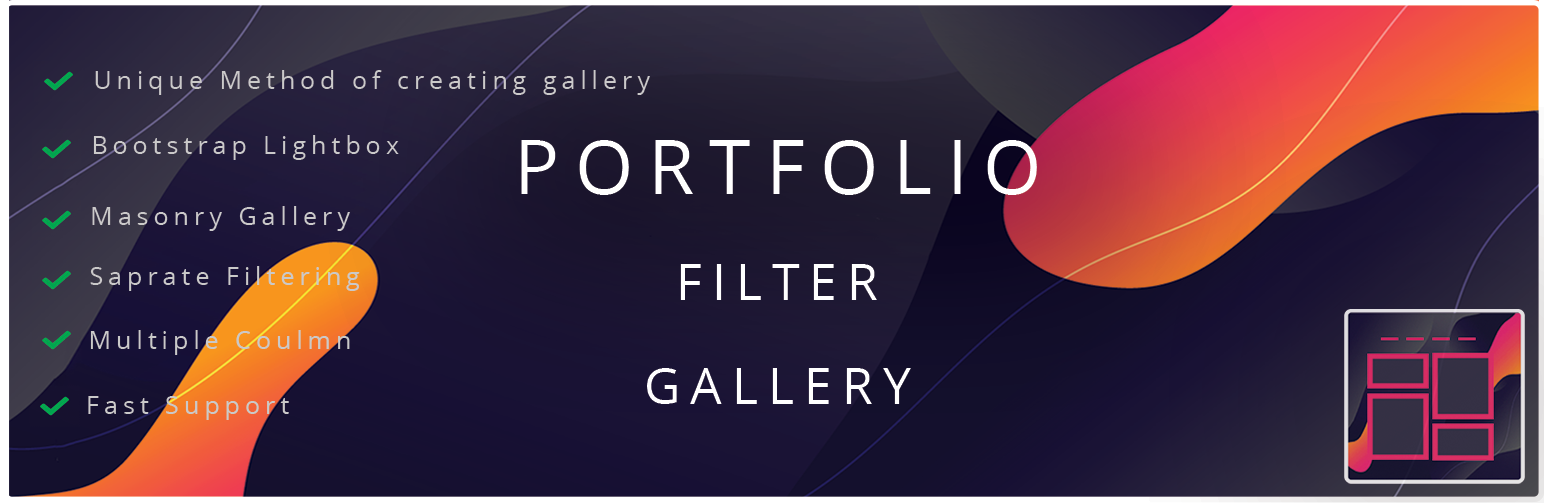 WordPress Plugin Portfolio Gallery – Image Gallery Plugin