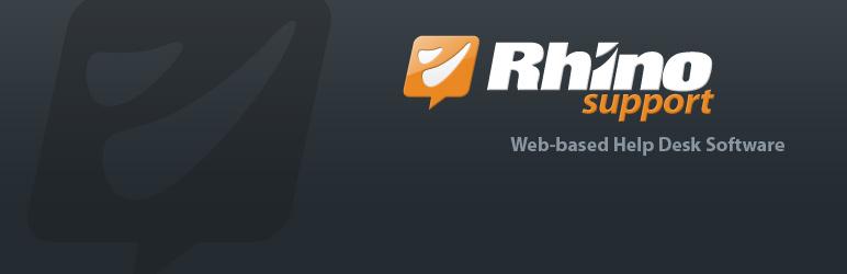 WordPress Rhino Support for WordPress Plugin Banner Image
