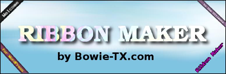WordPress Ribbon Maker Plugin Banner Image