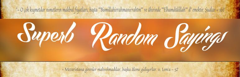 WordPress Risalelerden Secmeler Plugin Banner Image