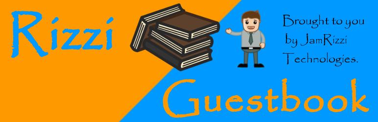 WordPress Rizzi Guestbook Plugin Banner Image