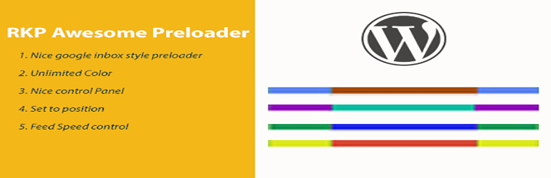 WordPress RKP Awesome Preloader Plugin Banner Image