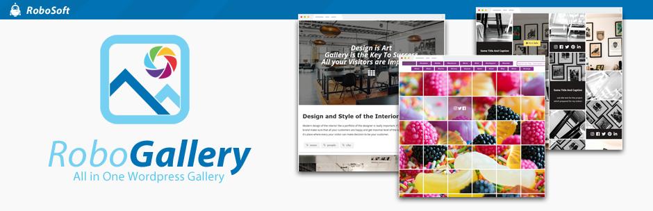 WordPress Image Gallery by Robo – Responsive Photo Gallery Plugin Banner Image
