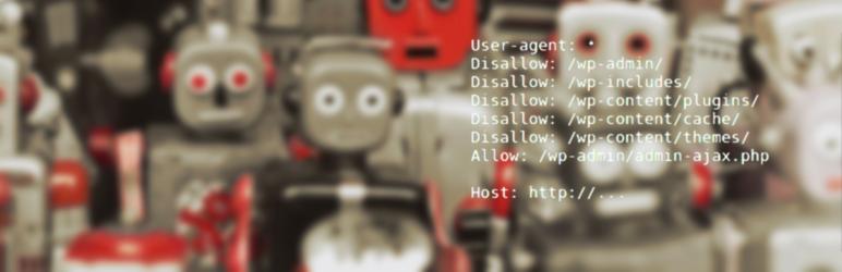 WordPress Robots.txt rewrite Plugin Banner Image