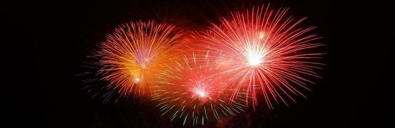 WordPress Rocket Fireworks Plugin Banner Image