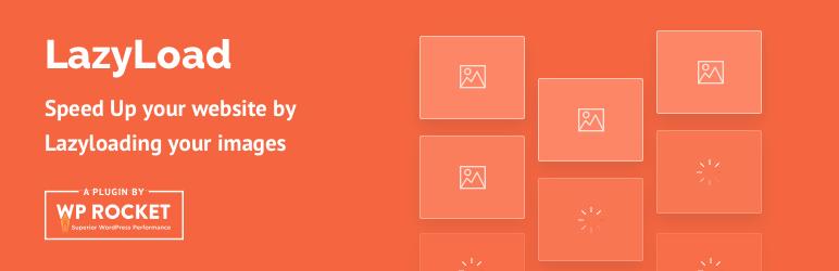 WordPress Lazy Load by WP Rocket Plugin Banner Image