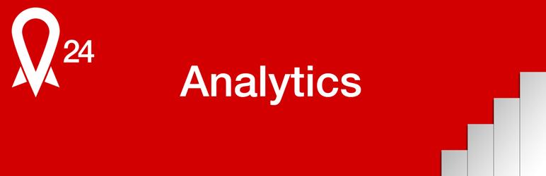 WordPress Rocket24 Analytics Plugin Banner Image