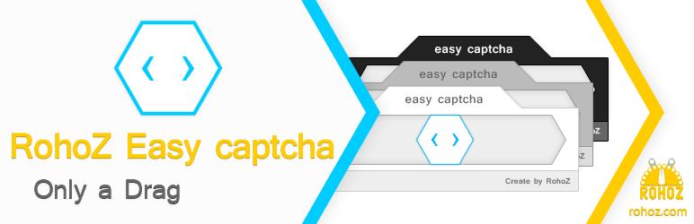WordPress RohoZ Easy captcha Plugin Banner Image