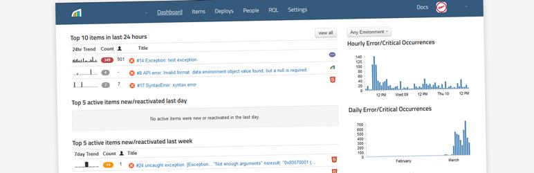 WordPress Rollbar Logging Plugin Banner Image