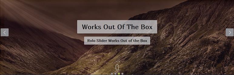 WordPress Rolo Slider Plugin Banner Image