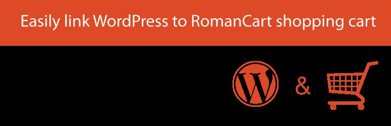 WordPress RomanCartWPPluginStd Plugin Banner Image