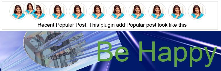 WordPress Round Top Post Plugin Banner Image