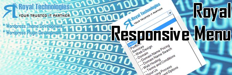 WordPress Royal Responsive Menu Plugin Banner Image