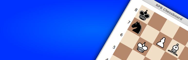 WordPress RPB Chessboard Plugin Banner Image