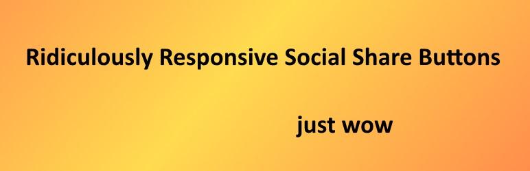 WordPress RRSSB Plugin Banner Image