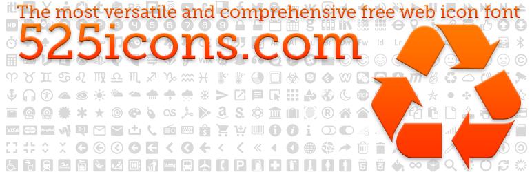 WordPress RS 525icons Plugin Banner Image