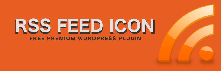 WordPress RSS Feed Icon Plugin Banner Image