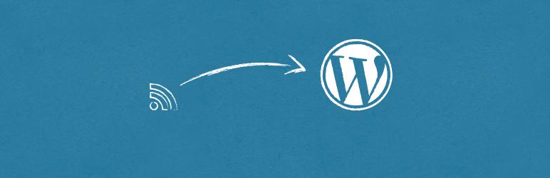 WordPress RSS Importer Plugin Banner Image