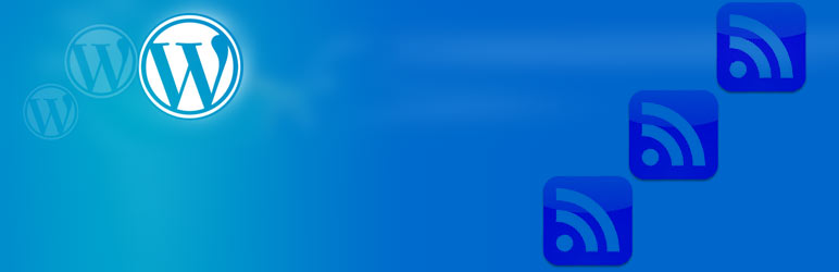 WordPress RSS shortcode w/template Plugin Banner Image