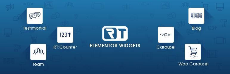 WordPress RT Elementor Widgets Plugin Banner Image