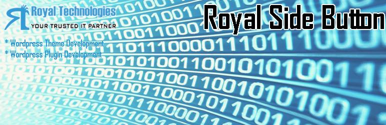 WordPress Royal Side Button Plugin Banner Image