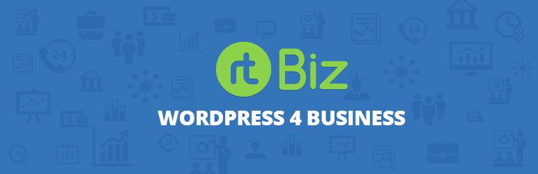 WordPress rtBiz Plugin Banner Image
