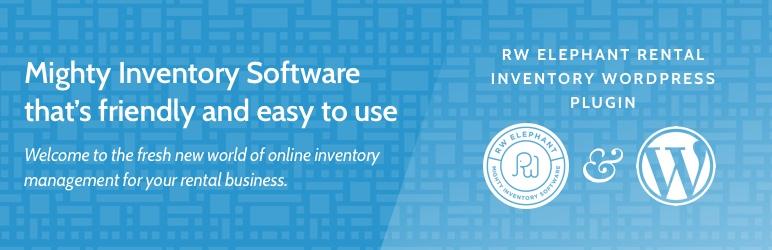 WordPress RW Elephant Rental Inventory Plugin Banner Image
