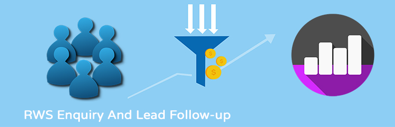 WordPress RWS Enquiry And Lead Follow-up Plugin Banner Image