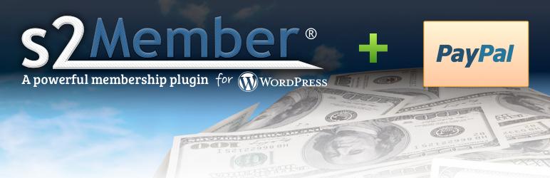 WordPress s2Member Framework (Member Roles, Capabilities, Membership, PayPal Members) Plugin Banner Image