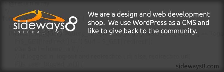 WordPress Sideways8 Simple Taxonomy Images Plugin Banner Image