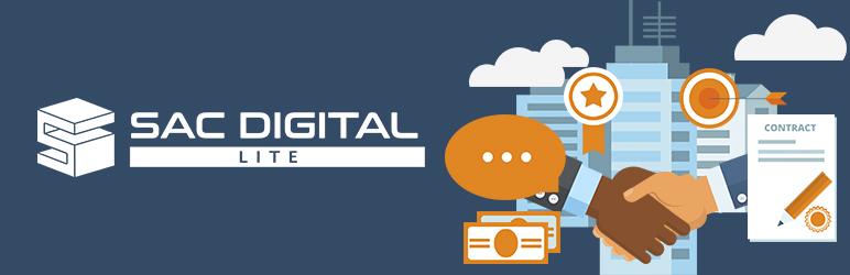 WordPress SAC DIGITAL Lite Plugin Banner Image