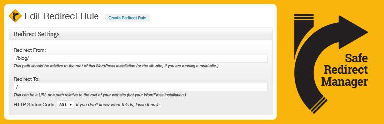 WordPress Safe Redirect Manager Plugin Banner Image