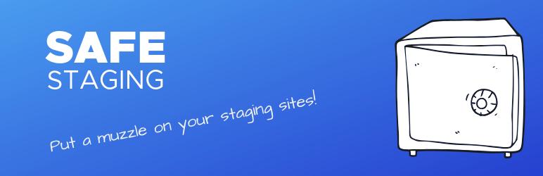 WordPress Safe Staging Plugin Banner Image