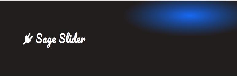 WordPress Sage Slider Plugin Banner Image