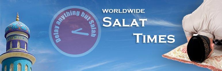 WordPress Salat Times Plugin Banner Image