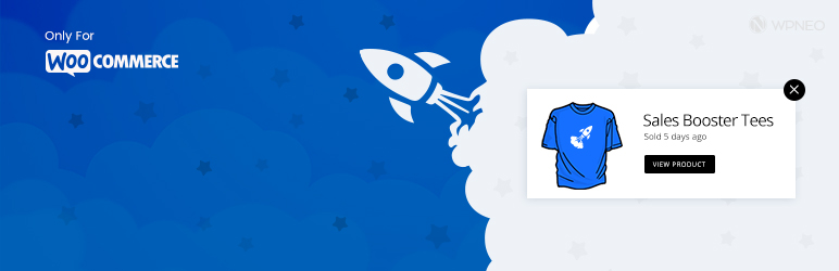 WordPress Sales Booster for WooCommerce Plugin Banner Image