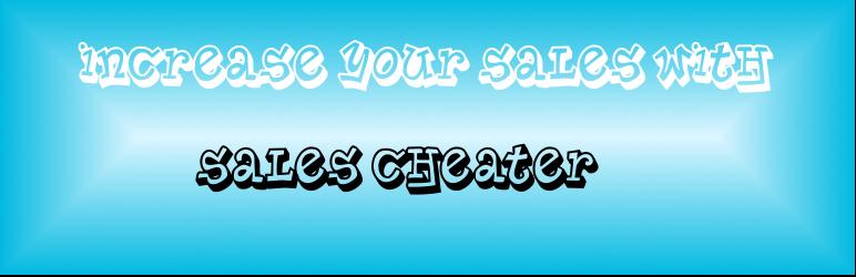 WordPress Sales Cheater Plugin Banner Image