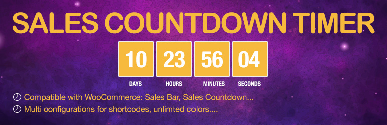 WordPress Sales Countdown Timer Plugin Banner Image