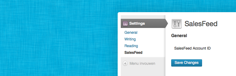 WordPress SalesFeed Plugin Banner Image