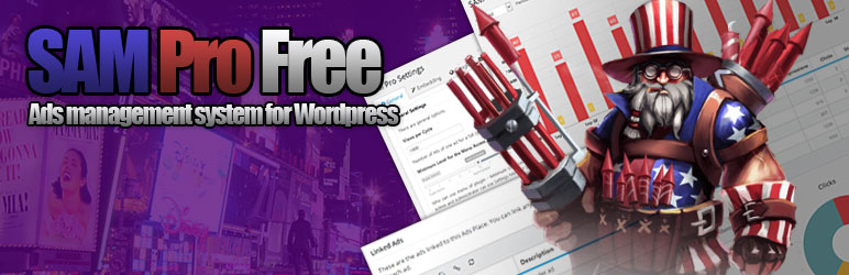 WordPress SAM Pro (Free Edition) Plugin Banner Image