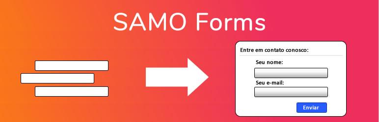 WordPress SAMO Forms Plugin Banner Image