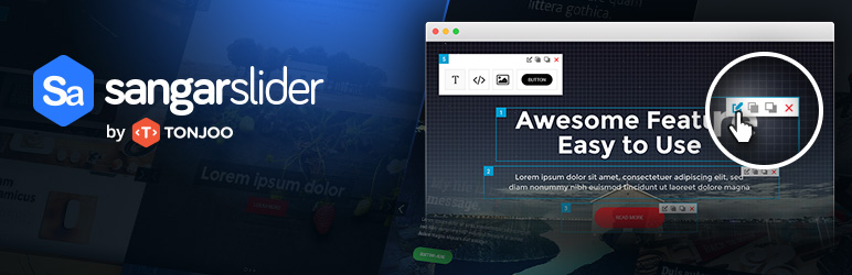 WordPress Responsive Slider – Sangar Slider Plugin Banner Image